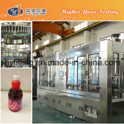 Hy-Filling Sport Cap Pet Bottle Blueberry Juice Bottling Machine