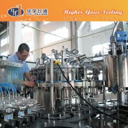 Automatic 330ml Glass Bottle Beer Filling Machine