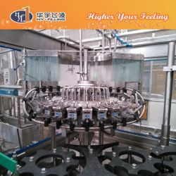 Glass Bottle Energy Beverage Automatic 3 in 1 Filling Machine