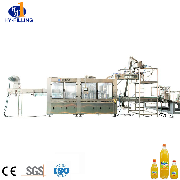 High Accuracy CSD Bottled Production Line/ Carbonated Beverage Bottling Plant/carbonated water machine