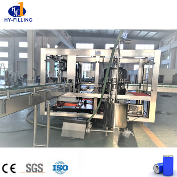Aluminum Cans Production Line/Beer Can Filling Line Machine For 250ml 330ml