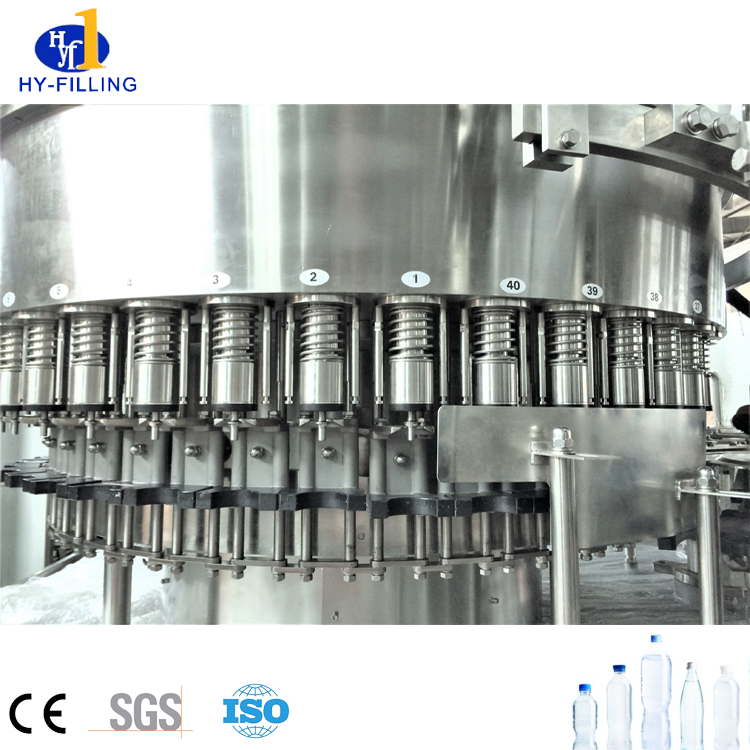 Complete PET Bottled Drinking Mineral Water Filling Production Line