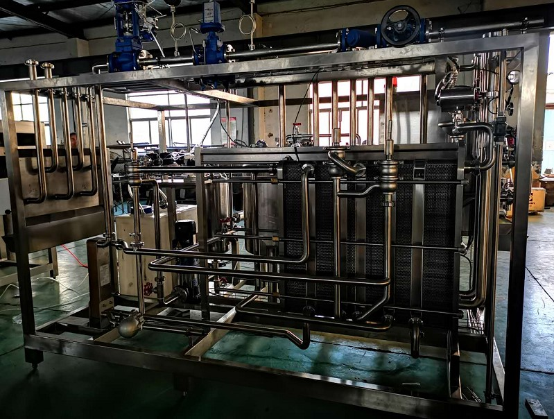 Full Automatic Juice Plate Uht Pasteurizer (BSJ Series)